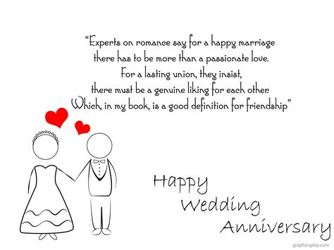 Wedding Anniversary Greetings Email by Happy Wedding Anniversary Greeting With Quotes Graphicsplay