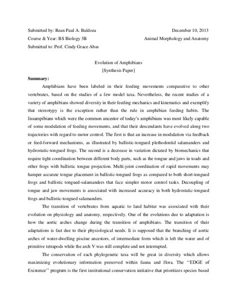 Exles Of Synthesis Essay by College Essays College Application Essays Synthesis Paper Exle
