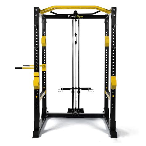 bench power rack powergym fitness heavy duty commercial power rack cage