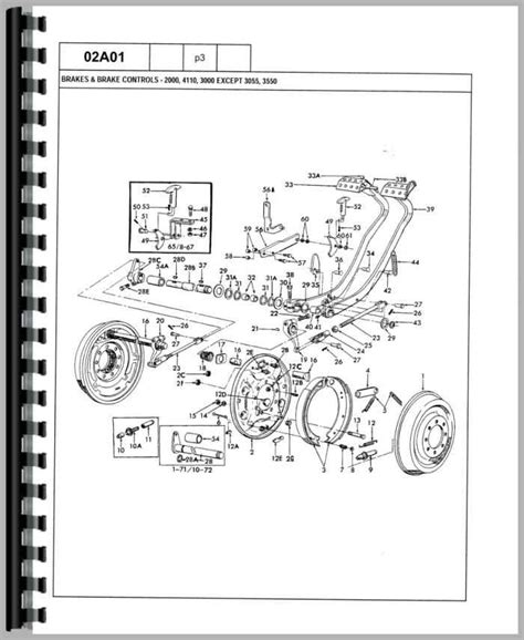 ford 3600 tractor parts diagram ford 3600 tractor steering diagram ford free engine