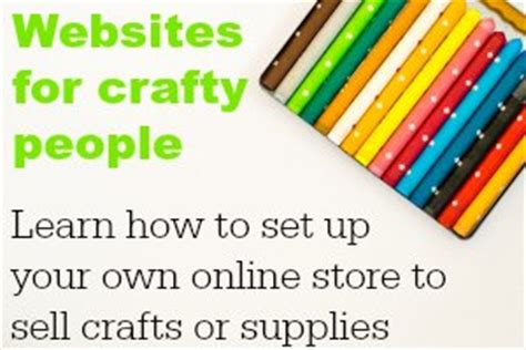 Website To Sell Handmade Items - how to sell your handmade items diy crush