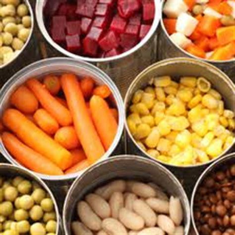 alimenti conservati cibi in scatola