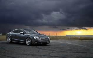 Sunset Audi Sunset With Audi S5 Wallpaper Android Wallpaper