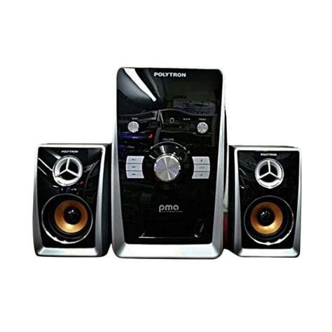 Tv Polytron Bluetooth jual polytron pma 9501 multimedia audio speaker portabel with bluetooth harga