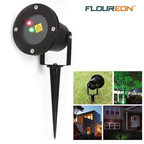 Floureon Outdoor Rg Dynamic Laser Projector Starry Laser Outdoor Light Projector