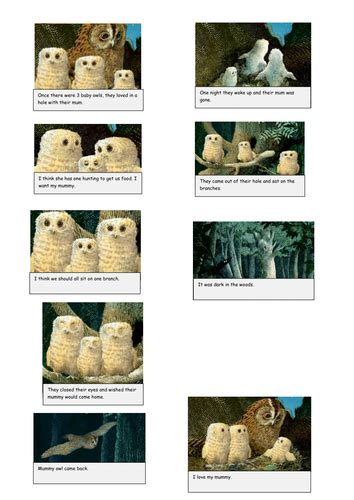 tes new year story resources owl babies story ordering by lawlawz29 teaching