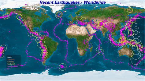 earthquake mp earthquake map recent quakes