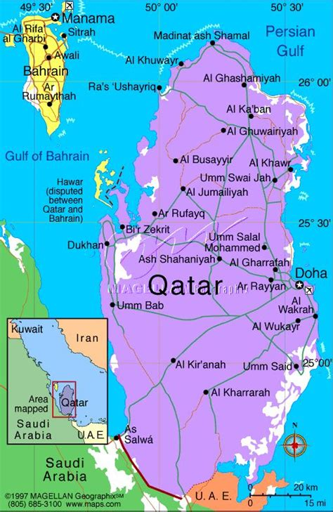 printable road map of bahrain map of qatar google maps yahoo image search results