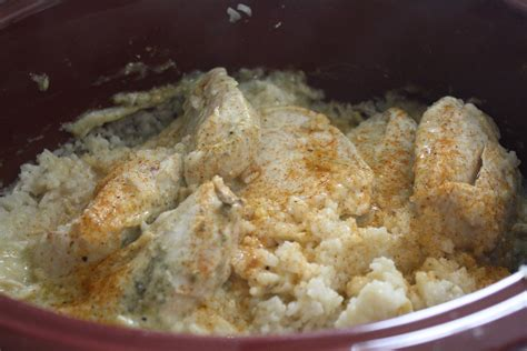 sunny simple life crock pot chicken and rice