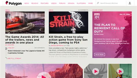 majalah web design online magazine website layouts for design inspiration