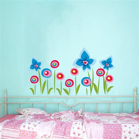 murales fiori adesivi follia adesivo murale bambino fiori