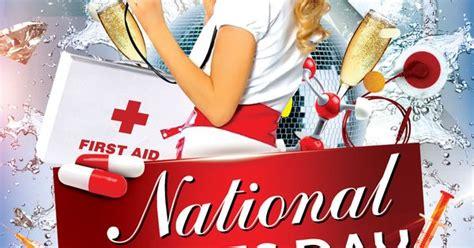 nurses week flyer templates free nurses day flyer psd template styleflyers