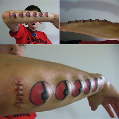 tattoo fail pokemon cool and creative pokemon tattoos techeblog