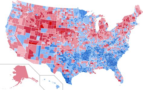 map of usa votes by county who is your favorite president and why least favorite