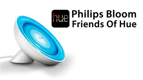 hue with philips living colors review philips friends of hue bloom l overview and