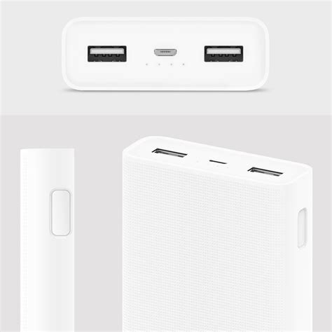 Power Bank Xiaomi 20000 Mah xiaomi mi power bank 20000 mah k 252 ls蜻 akkumul 225 tor magyar xiaomi web 225 ruh 225 z
