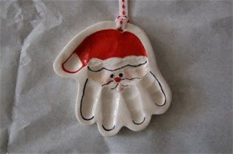 salt dough santa handprint ornaments 1 2 cup salt 1 2