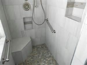 doorless shower modern bathroom kansas city by