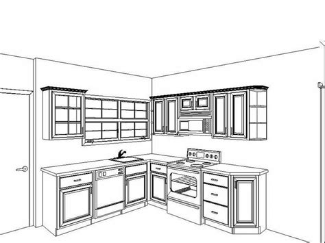 kitchen design drawings planning ideas small kitchen floor plan ideas small