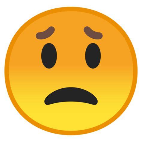 imagenes en png de emojis besorgtes gesicht emoji