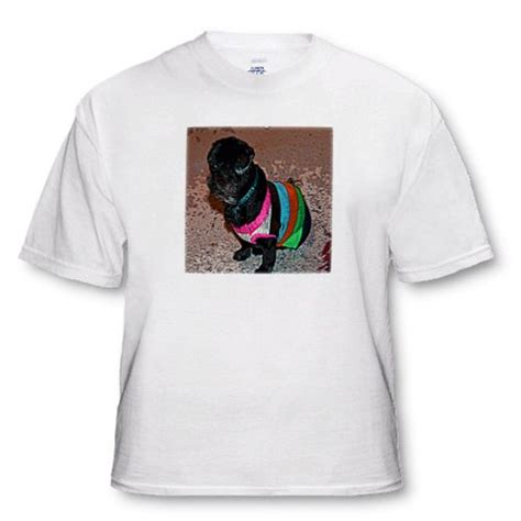 pug in heat bleeding cut t shirts shirts