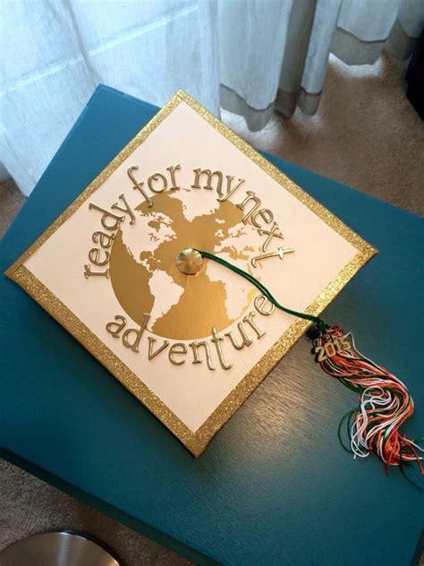 Mba Graduation Ideas by World Travel Grad Cap Grad Caps Grad Cap