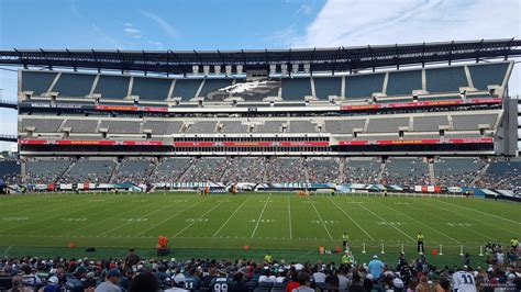 lincoln sections lincoln financial field section 121 philadelphia eagles