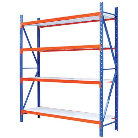steel long span shelving rack for warehouse and