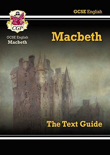 gcse english text guide 1841461156 gcse english shakespeare text guide macbeth cgp books paperback book