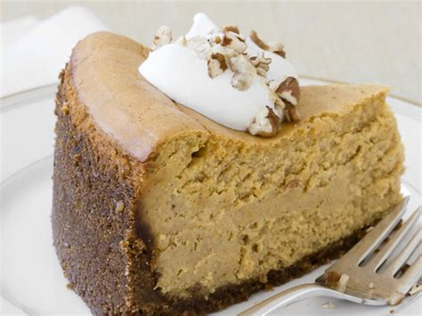 almost famous pumpkin cheesecake recipe food network kitchen food network