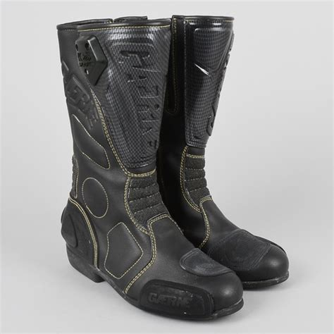 motocross boots size 7 gaerne motorcycle boots size 7 black leather ebay