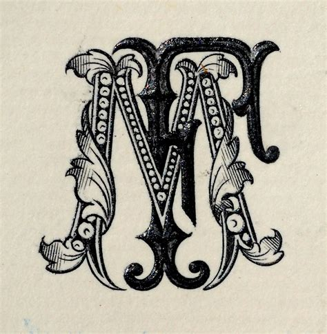 tattoo monogram creator this monogram from an earlier era is not in a style i