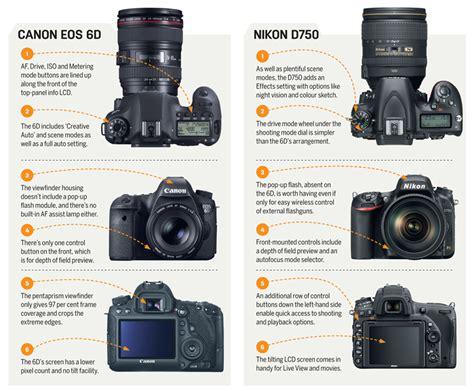 nikon vs canon canon eos 6d vs nikon d750 photography news world