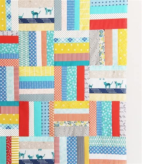 Quilt Patterns Using Strips by Scrappy Strips Quilt Tutorial Cluck Cluck Sew