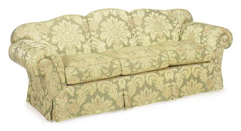 floral couches a green and yellow floral upholstered sofa modern