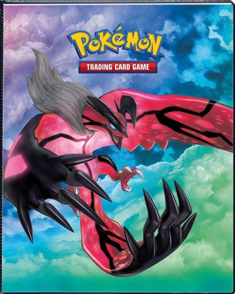 pokemon binder covers printable xy base 4 pocket portfolio xerneas yveltal accessories