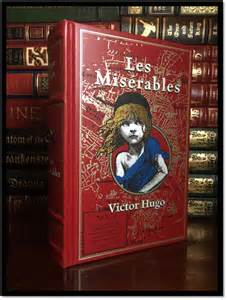 Les Miserables Book Report Les Miserables By Victor Hugo Brand New Leather Bound
