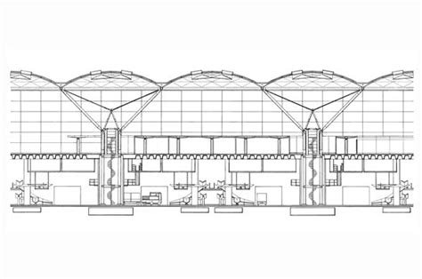 Stansted Airport Floor Plan by Stansted Airport Foster Partners