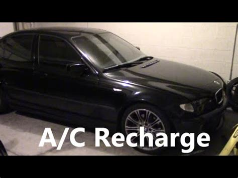 auto air conditioning service 1999 bmw 7 series electronic toll collection how to recharge air conditioning bmw 3 series e46 a c 2003 330i zhp youtube