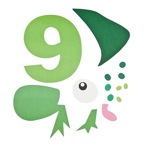 number crafts for number 9 craft kit