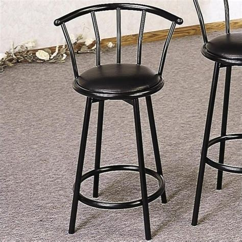 metal bar stools steel counter stools kitchen dining chairs coaster 25 quot swivel metal counter stool 2395