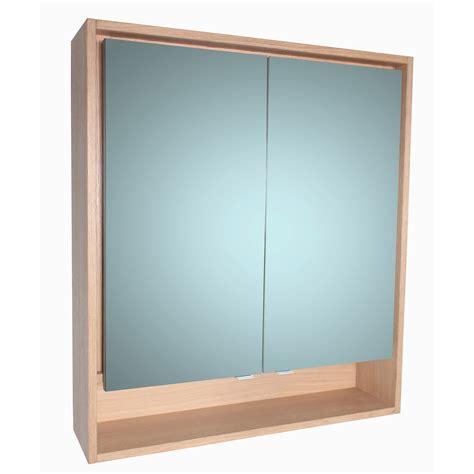 Armoire De Toilette 80 Cm by Armoire De Toilette Lumineuse L 80 Cm Imitation Ch 234 Ne