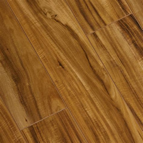 hand scraped laminate flooring reviews trafficmaster scraped douglas acacia 8 mm thick x 5 5 8 in wide x 47 7 8 in length