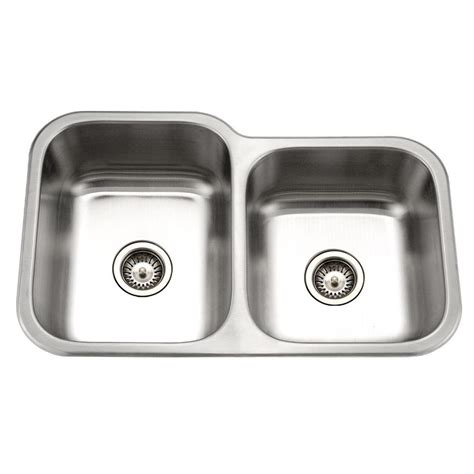 newage products stainless steel classic 32 in sink houzer medallion classic series undermount stainless steel