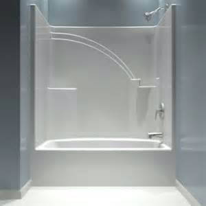 tub and shower one piece one piece acrylic tub shower insert for the home