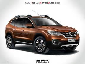 About Renault Duster 2018 Renault Duster 3 Row Variant Rendering