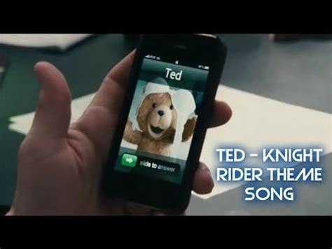 theme music knight rider ted llamado knight rider theme song intro