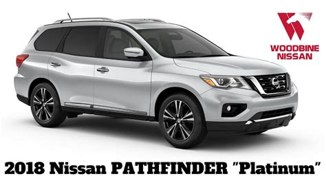 nissan pathfinder platinum 2018 2018 nissan pathfinder platinum walkaround review
