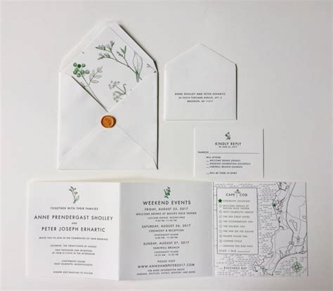 custom tri fold wedding invitations tri fold custom wedding invitation map itinerary
