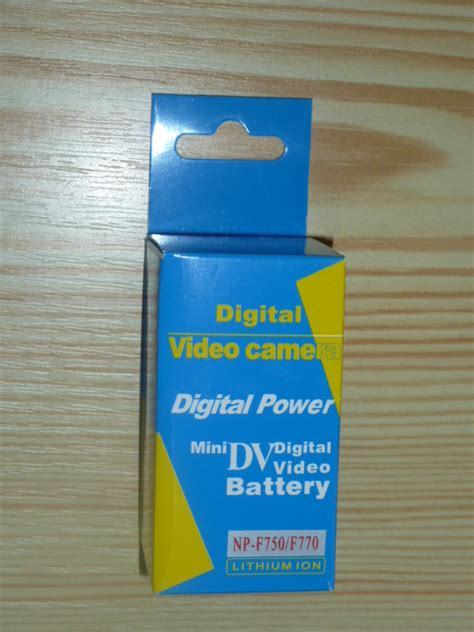 Digital Np F750 Baterai Kamera digital power np f770 np f750 sony 4800 mah infolithium